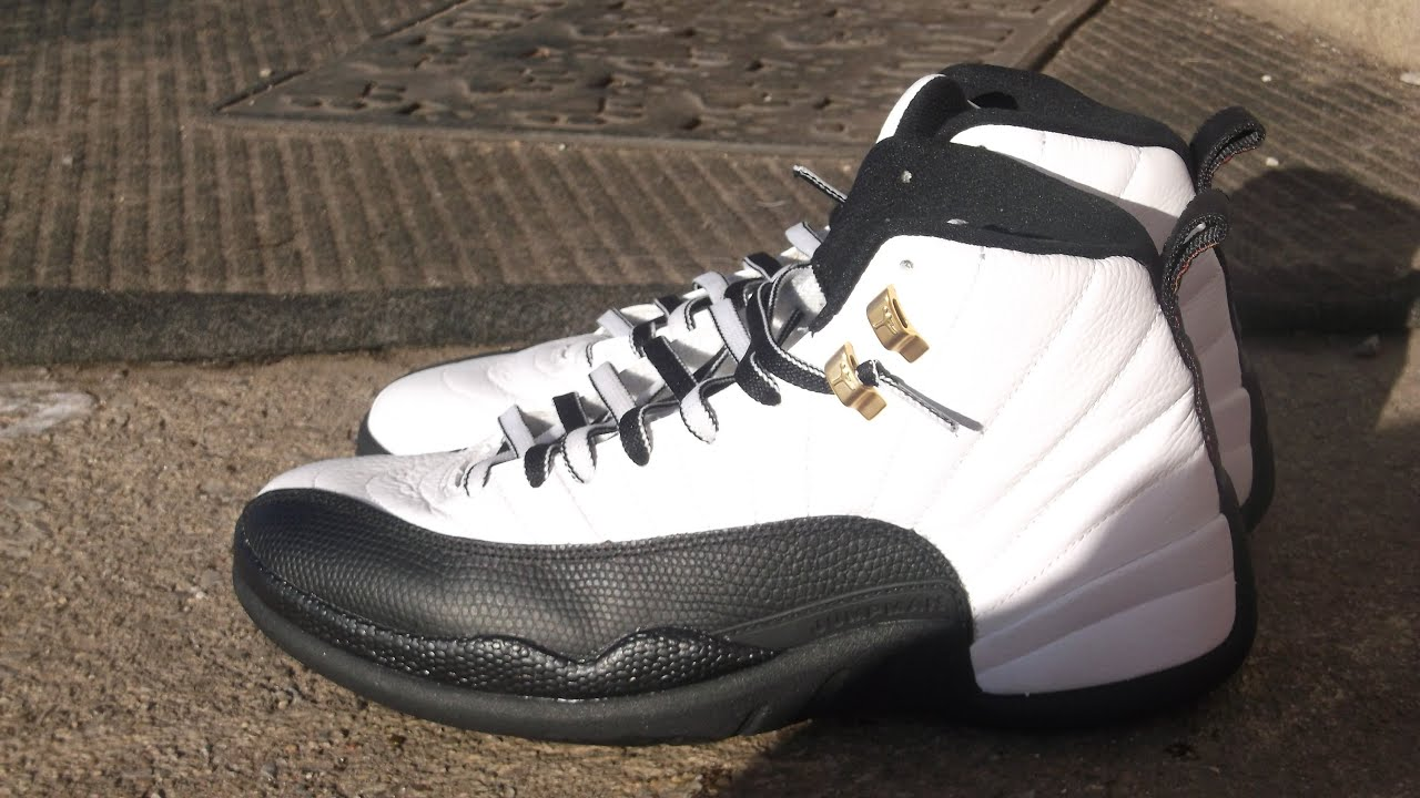 Authentic Air Jordan Taxi 12  from 2008 - YouTube 8c67d9396