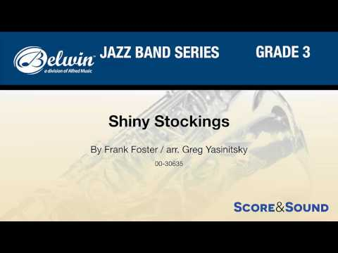 Shiny Stockings, arr. Greg Yasinitsky – Score & Sound