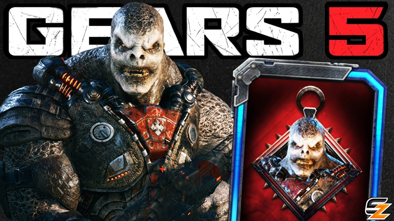 GEARS 5 Characters Gameplay - LOCUST DRONE Character Skin Multiplayer Gameplay! thumbnail