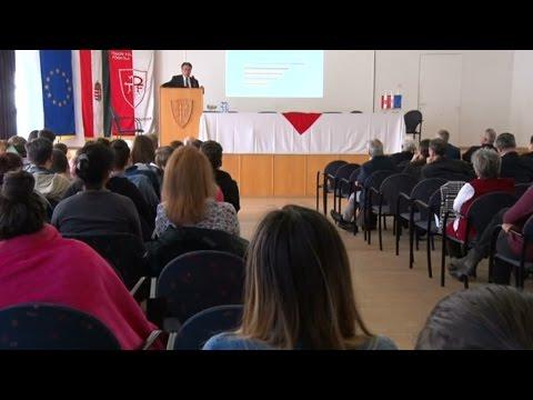 Konferencia a Tomori Pál Főiskolán - Promontor Televízió