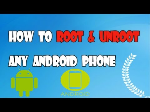 How To ROOT AND UNROOT almost any android WITH ONE CLICK[SAFE METHOD] WITHOUT PC(Easy and fastest)