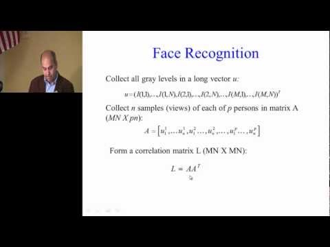 Lecture 14: Face Recognition