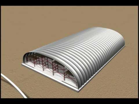Arch Metal Building
