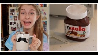 DIY 2 Minute Nutella Cake! Thumbnail
