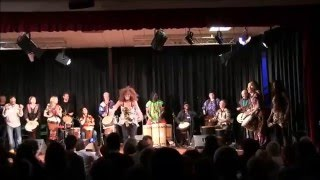 Jam session finale/Surubà – Auditorium Santa Chiara, Roma 30.4.2016