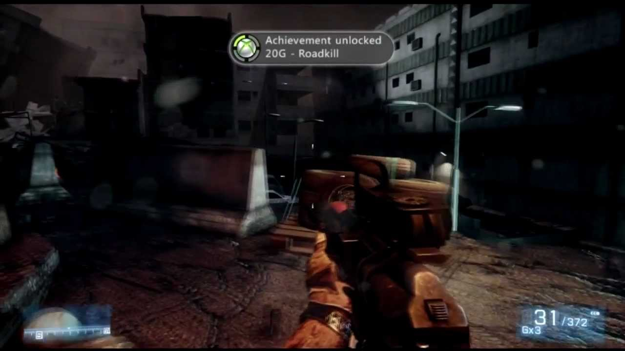 battlefield 3 roadkill achievement trophy guide youtube rh youtube com Battlefield 3 PS3 Cover Battlefield 3 PS3 Vault