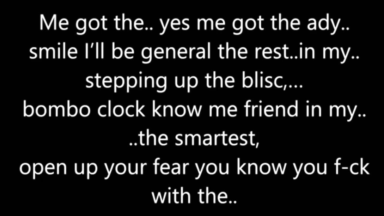 Watch Out For This (Bumaye) Songtekst-Major Lazer Lyrics