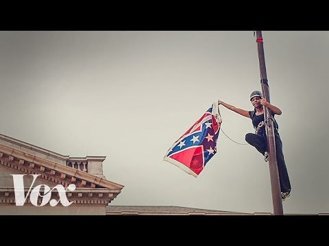 Bree Newsome Takes Down Confederate Flag At South Carolina Statehouse
