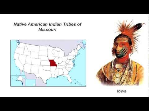 Native American Indian Tribes of Missouri