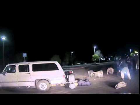 Police Dash Cam Video At Wal-Mart Warning Graphic!