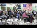 Vernon Town Meeting 2018