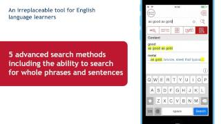 Merriam-Webster's Dictionary Apps for iOS 8. New features.