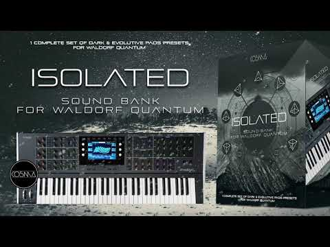 ISOLATED  Sound Bank for Waldorf Quantum by CO5MA
