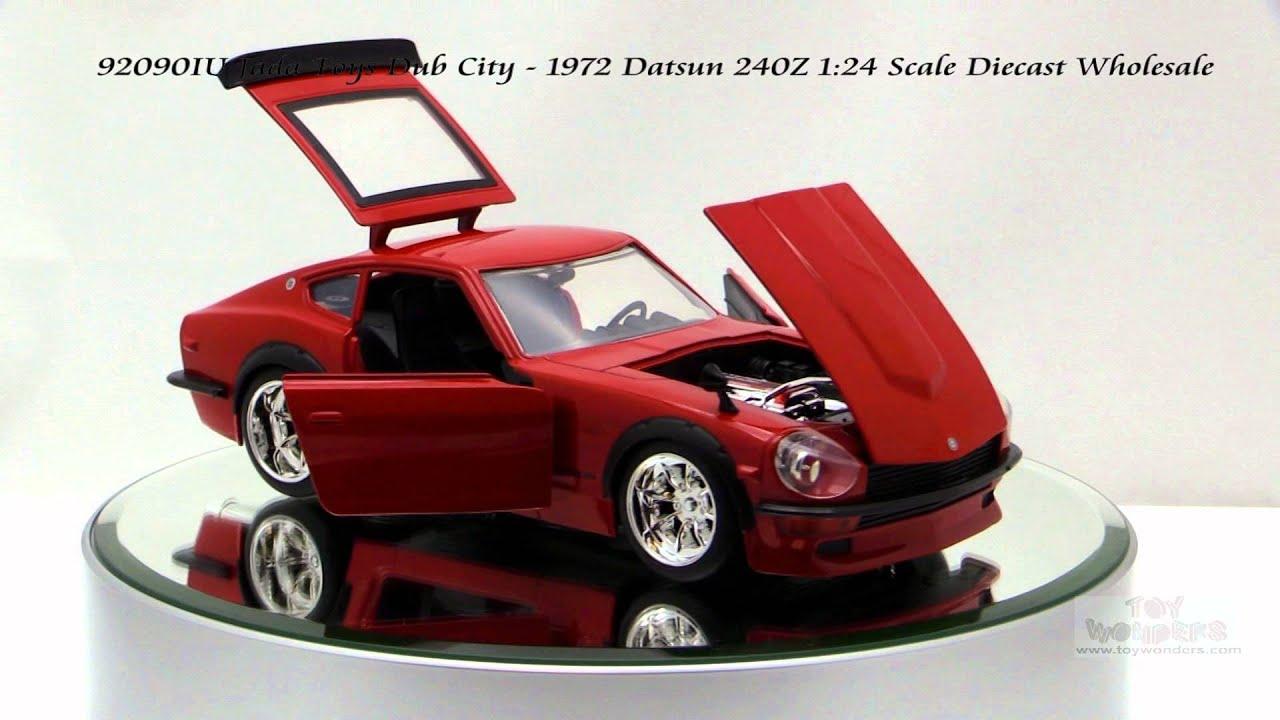 92090IU Jada Toys Dub City 1972 Datsun 240Z 1/24 Scale ...