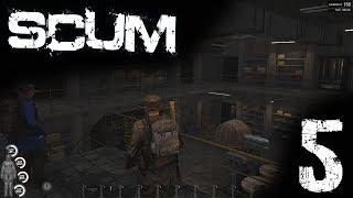 SCUM Gameplay [DE] #005 Fröhlich Looten (Bunker)
