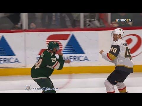 Ryan Carpenter vs Mathew Dumba Feb 2, 2018