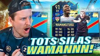 WAMAAAAAN!! 91 TOTS SILAS WAMANGITUKA PLAYER REVIEW! FIFA 21 Ultimate Team
