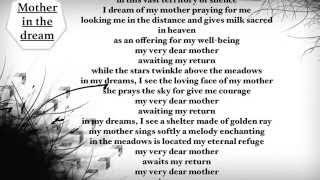 Gambar cover Mother in dream song-Uudam(Lyrics)