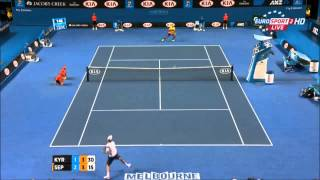 Nick Kyrgios (AUS) vs Andreas Seppi (ITA) / Highlights / Australian Open - 2015 R4