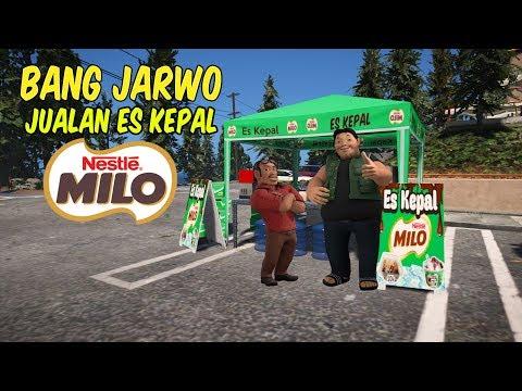 Bang Jarwo dan Bang Sopo Jualan ES Kepal Milo -GTA V lucu