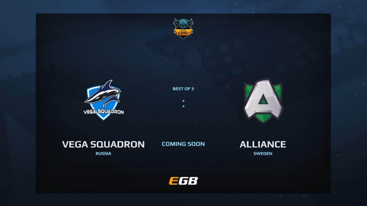 Vega Squadron vs Alliance, Game 2, Dota Summit 7, EU Qualifier