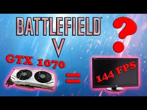 ВЫДАСТ ЛИ GTX 1070 в BF5 ЗАВЕТНЫЕ 144 FPS???
