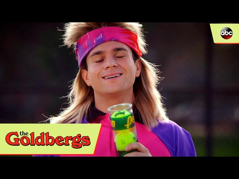 Barry Imitates Andre Agassi - The Goldbergs 4x13
