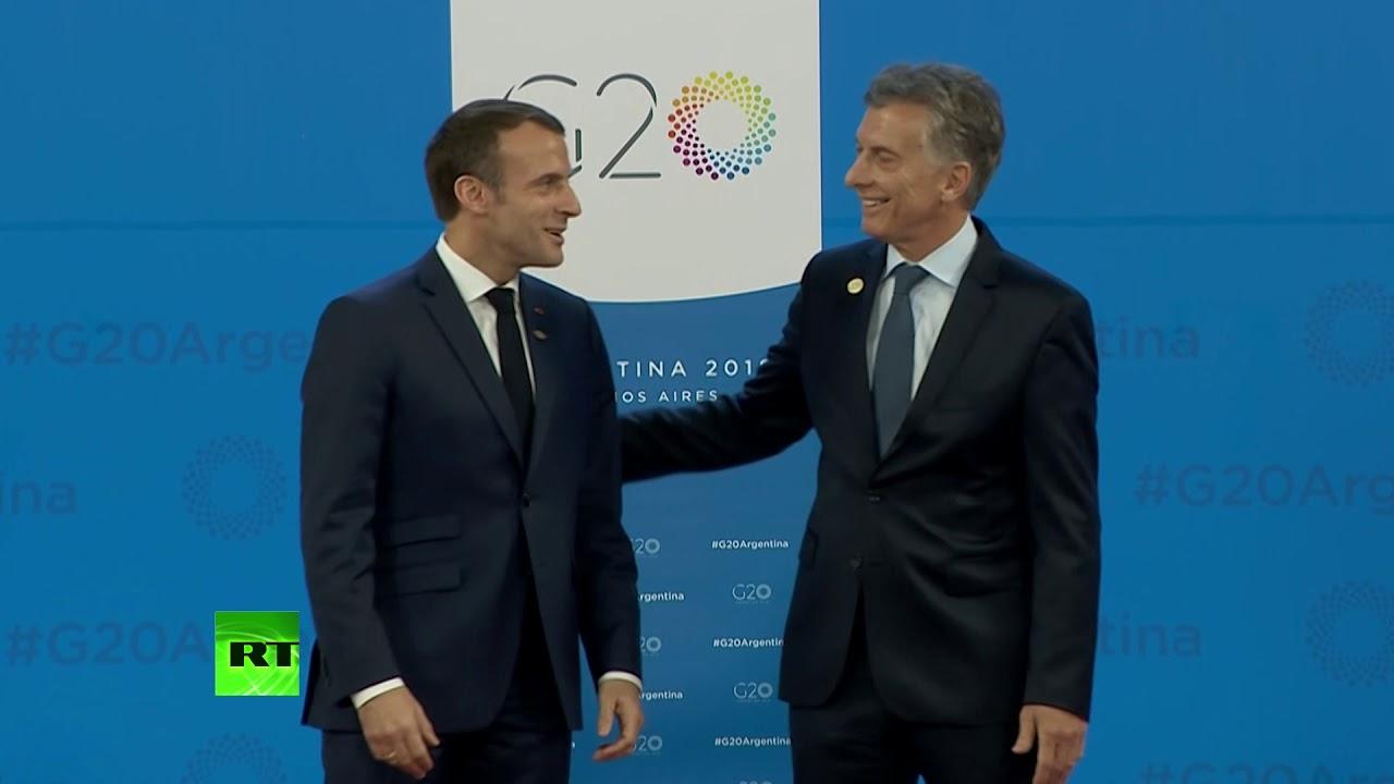 Такие разные приветствия: как президент Аргентины лидеров на саммите G20 встречал