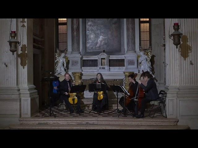Canzon Sexta for 4 viols. Parthenia Viols