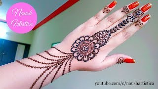 Jewellery Mehndi Design | Jewellery Henna 2017 - Naush Artistica