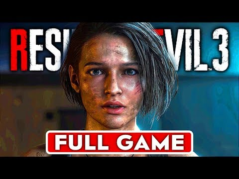 RESIDENT EVIL 3 REMAKE Gameplay Walkthrough Part 1 FULL GAME [1080p HD 60FPS PC] - No Commentary