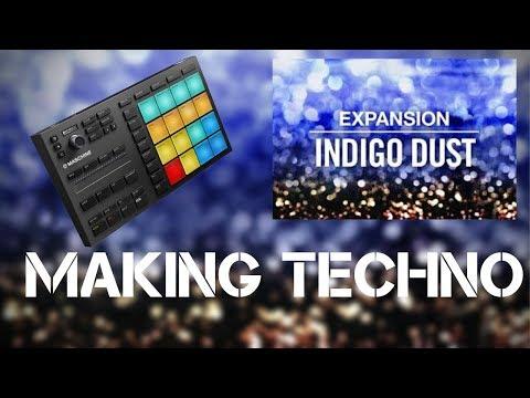 Techno Tutorial - Maschine Mikro Mk3 - Indigo Dust