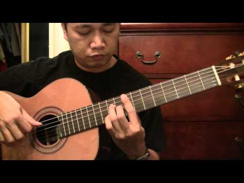 Lagkaw - B. Montenegro (arr. Raffy Lata) Solo Classical Guitar