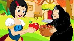 Biancaneve e i sette nani storie per bambini - Cartoni Animati - Fiabe e Favole per Bambini