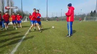 Así suena el último entrenamiento de la Sub-17 en Bruselas
