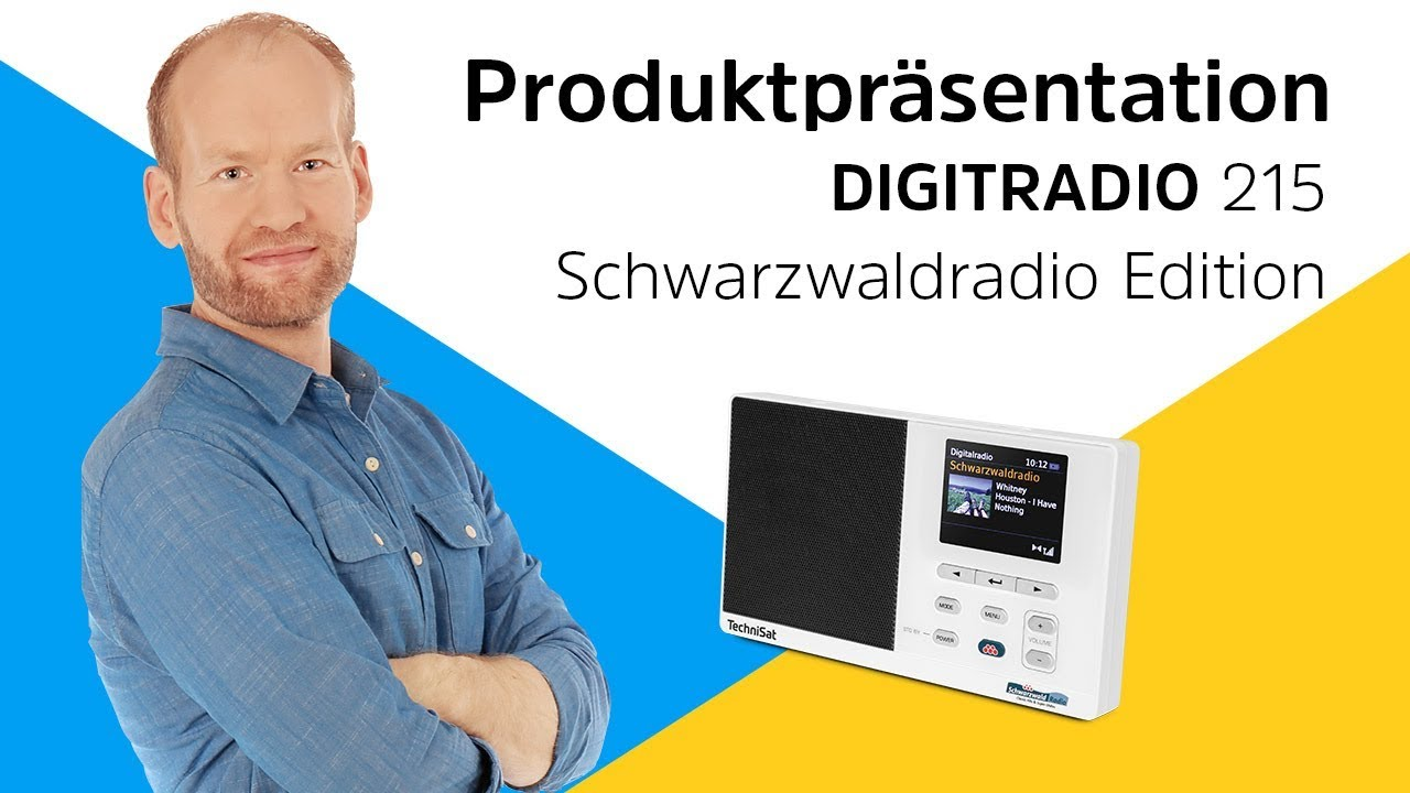 Video: DIGITRADIO 215 Schwarzwaldradio Edition | Classic Hits und Super Oldies auf Tastendruck. | TechniSat