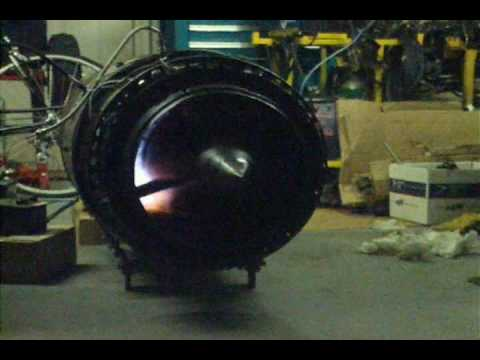 J-44-R-3 turbojet  short start-up