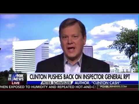 Peter Schweizer reacts to State Department IG report on Clinton Emails