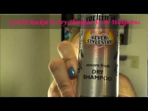 Got2B Dry Shampoo Tutorial and Review