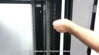 "Rack 19"" MobiRack HQ 24U distribué Cablematic ®"