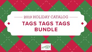 Tags Tags Tags Bundle By Stampin' Up!