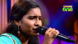Pathinalam Ravu Season 4   Rijisha - NewSong'Asarmulla poovin'(Epi55 Part2)