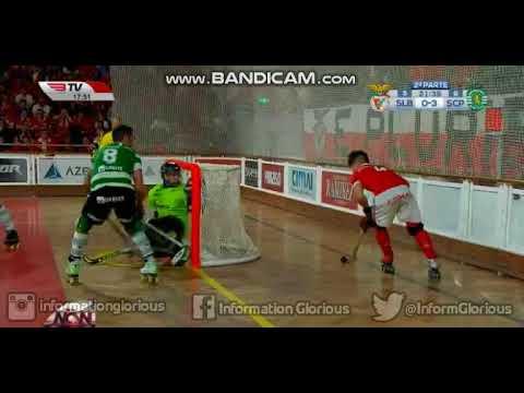 Hóquei em Patins, 24ª jornada: SL Benfica 4-7 Sporting CP