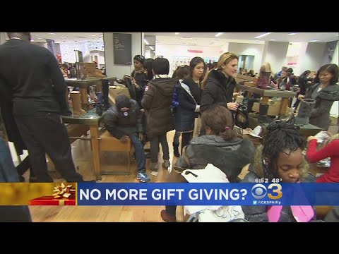 More Americans Want To Forgo Gift-Giving During Holidays, Says Study