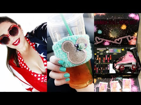 VLOG   4th of July, Pool Party, New Nails, Big Surprise Package!