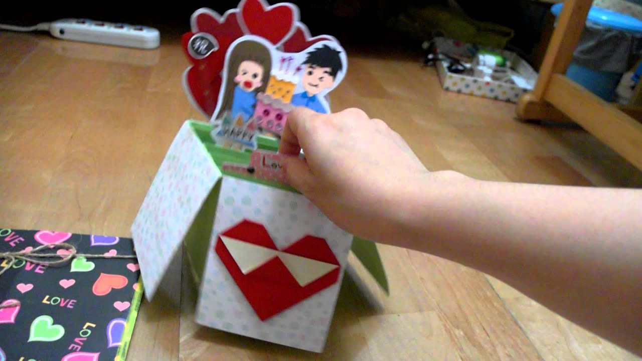 Birthday card for boyfriend - YouTube