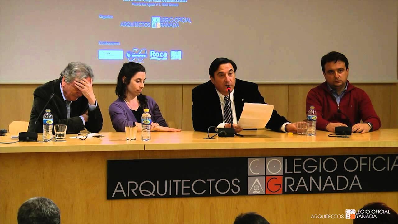 1 4 conferencia de rafael moneo colegio oficial de - Colegio arquitectos granada ...