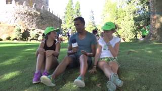 As conclusión dos máis cativos dos campamentos de Verán