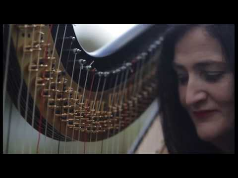 HARP MUSIC...Mad World ( harp cover).................NI Harpist Les Magee