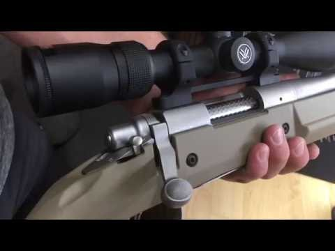 How to Install Game Reaper Rings and a Vortex Scope on a Remington 700